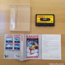 Videojuegos y Consolas: JUEGO CASSETTE ORDENADORES MSX MSX2 INTERNATIONAL KARATE BUEN ESTADO FUNCIONANDO. Lote 208375668