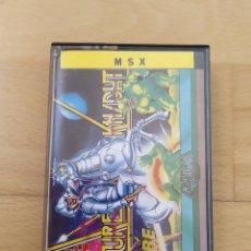 Videojuegos y Consolas: JUEGO FORMATO CASSETTE MSX MSX2 FUTURE KNIGHT GREMLIN BUEN ESTADO FUNCIONANDO. Lote 208375877