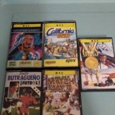 Videojuegos y Consolas: LOTE CINTAS MSX. Lote 209064248