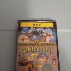 Videojuegos y Consolas: GAUNLET MSX. Lote 209064627