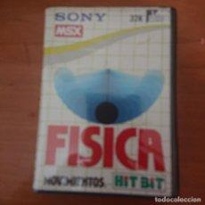 Videojuegos y Consolas: FISICA MOVIMIENTOS MSX SONY COMPLETO. Lote 210106193