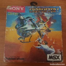 Videojuegos y Consolas: CHOPLIFTER! MSX SONY HIT BIT SIN MANUAL. Lote 210133693