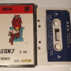 Videojuegos y Consolas: MSX/ JONY Y EL TRONO DEL JAGUAR/ (REF.C). Lote 210356783