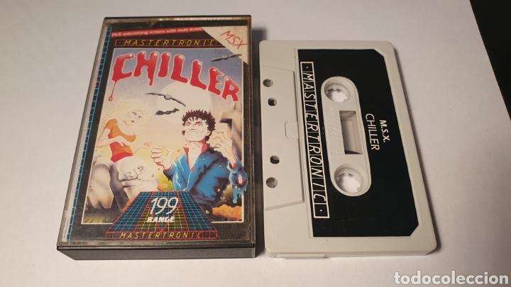 MSX/ CHILLER / (REF.C) (Juguetes - Videojuegos y Consolas - Msx)