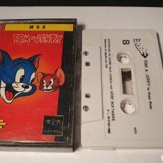 Videojuegos y Consolas: MSX/ TOM & JERRY/ (REF.C). Lote 210356952