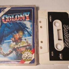 Videojuegos y Consolas: MSX/ COLONY/ (REF.C). Lote 210357003