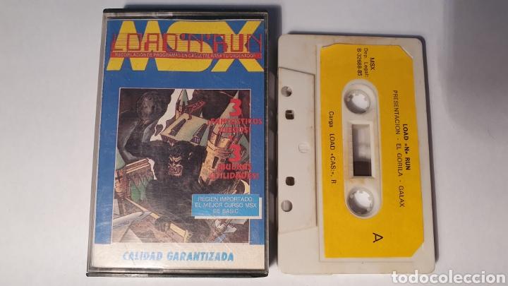 MSX/ LOAD N RUN/ (REF.C) (Juguetes - Videojuegos y Consolas - Msx)