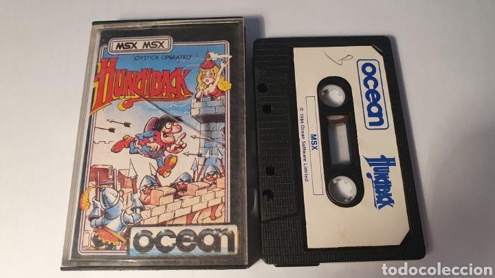 MSX/ HUNCHBACK/ JOSTICK OPERATED/ OCEAN/ (REF.C) (Juguetes - Videojuegos y Consolas - Msx)