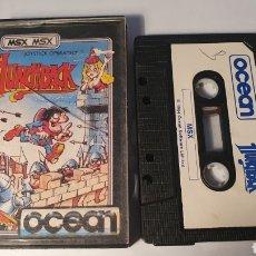 Videojuegos y Consolas: MSX/ HUNCHBACK/ JOSTICK OPERATED/ OCEAN/ (REF.C). Lote 210357487