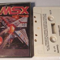 Jeux Vidéo et Consoles: MSX SOFTWAR/ 10 POGRAMAS/ (REF.C). Lote 210357698