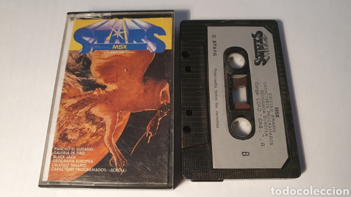 MSX/ STARS/ (REF.C) (Juguetes - Videojuegos y Consolas - Msx)