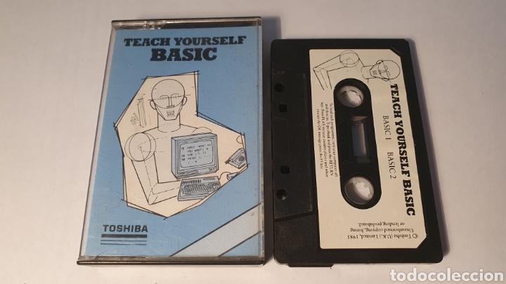 MSX/ TEACH YOURSELF BASIC/ TOSHIBA/ (REF.C) (Juguetes - Videojuegos y Consolas - Msx)