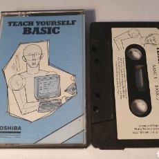 Videojogos e Consolas: MSX/ TEACH YOURSELF BASIC/ TOSHIBA/ (REF.C). Lote 210358152