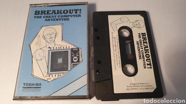 MSX/ BREAKOUT! THE GREAT COMPUTER ADVENTURE/ TOSHIBA/ (REF.C) (Juguetes - Videojuegos y Consolas - Msx)