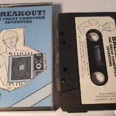 Videojogos e Consolas: MSX/ BREAKOUT! THE GREAT COMPUTER ADVENTURE/ TOSHIBA/ (REF.C). Lote 210358240