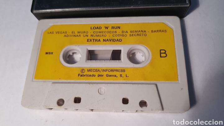 Videojuegos y Consolas: MSX/ LOAD N RUN/ EXTRA NAVIDAD/ (REF.C) - Foto 2 - 210358325
