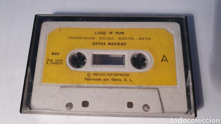 MSX/ LOAD N RUN/ EXTRA NAVIDAD/ (REF.C) (Juguetes - Videojuegos y Consolas - Msx)