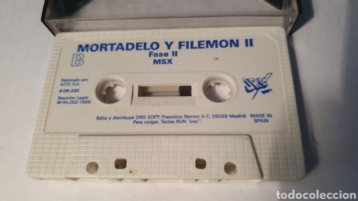 Videojuegos y Consolas: MSX/ MORTADELO T FILEMON II / (REF.C) - Foto 2 - 210358473