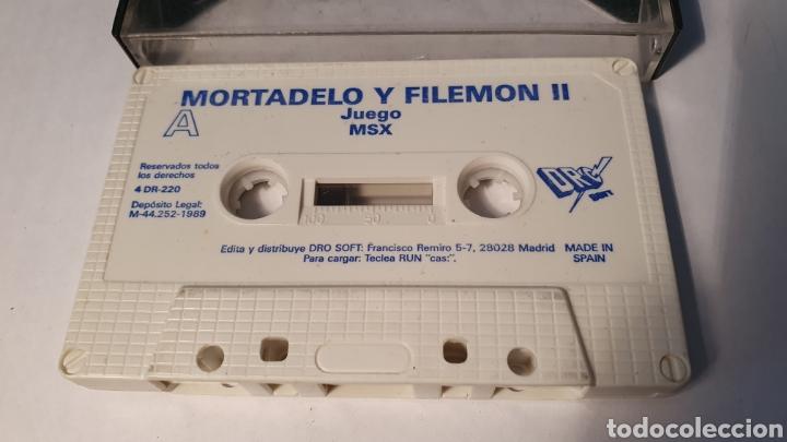 MSX/ MORTADELO T FILEMON II / (REF.C) (Juguetes - Videojuegos y Consolas - Msx)