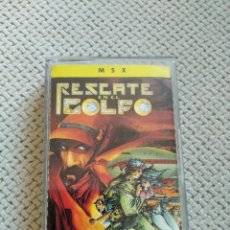Videojuegos y Consolas: RESCATE DEL GOLFO MSX. Lote 210815716