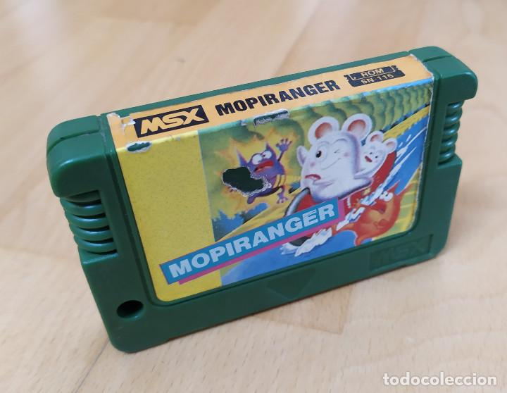 JUEGO CARTUCHO MSX KONAMI´S MOPIRANGER RARA VERSIÓN MEGACOM TAIWAN MSX2 BUEN ESTADO KONAMI (Juguetes - Videojuegos y Consolas - Msx)
