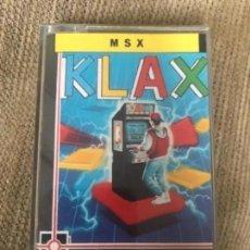 Videojuegos y Consolas: ANTIGUO JUEGO MSX KLAX TENGEN ERBE. Lote 212469176