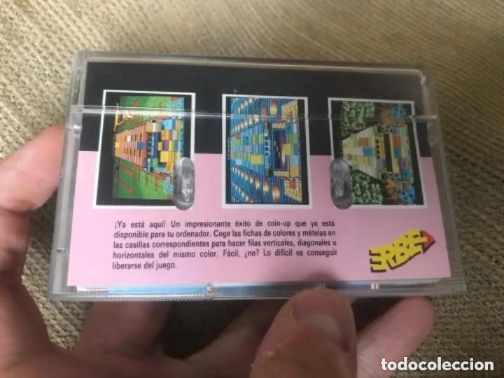 Videojuegos y Consolas: ANTIGUO JUEGO MSX KLAX TENGEN ERBE - Foto 3 - 212469176