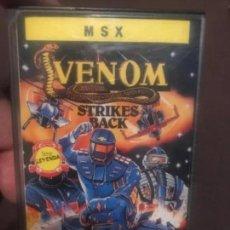 Videojuegos y Consolas: ANTIGUO JUEGO MSX VENOM ERBE. Lote 212472150