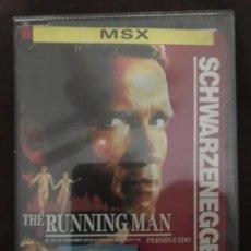 Videojuegos y Consolas: ANTIGUO JUEGO MSX THE RUNNING MAN SCHWARZENEGGER. Lote 245383805