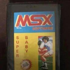 Videojuegos y Consolas: ANTIGUO JUEGO MSX SOFTWARE SÚPER BABY. Lote 212473666