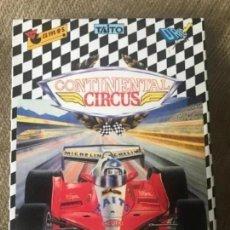 Videojuegos y Consolas: ANTIGUO JUEGO MSX CONTINENTAL CIRCUS TAITO. Lote 212474822