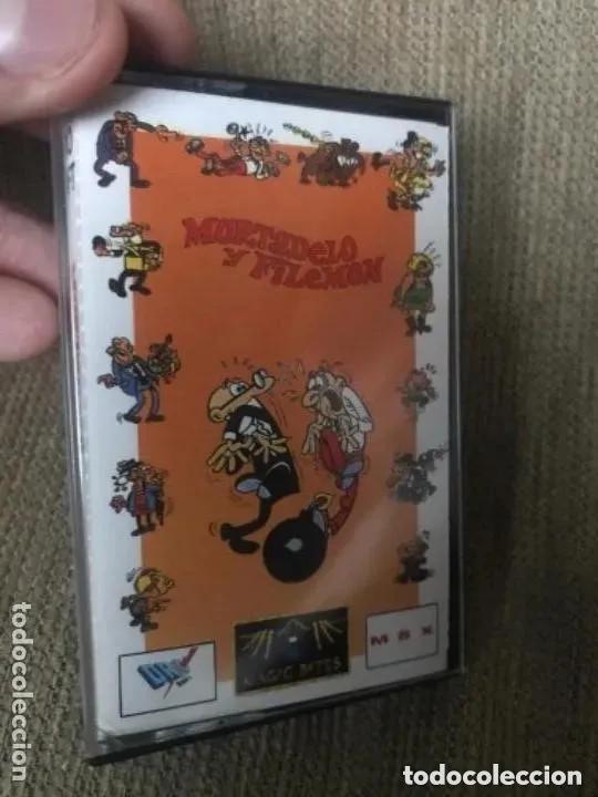 ANTIGUO JUEGO MSX MORTADELO Y FILEMÓN (Juguetes - Videojuegos y Consolas - Msx)
