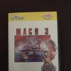 Videojuegos y Consolas: ANTIGUO JUEGO MSX MACH 3 LORICIELS. Lote 212475522