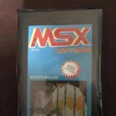 Videojuegos y Consolas: ANTIGUO JUEGO MSX SOFTWARE DESTH HOUSE. Lote 212476855