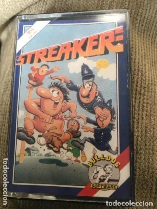 ANTIGUO JUEGO MSX STREAKER (Juguetes - Videojuegos y Consolas - Msx)