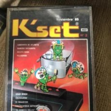 Videojuegos y Consolas: ANTIGUO JUEGO MSX KSET LABERINTO ATLANTIS DAMERO RULETA RUSA. Lote 212477221
