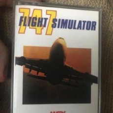 Videojuegos y Consolas: ANTIGUO JUEGO MSX 747 FLIGHT SIMULATOR SYSTEM 4. Lote 212477520