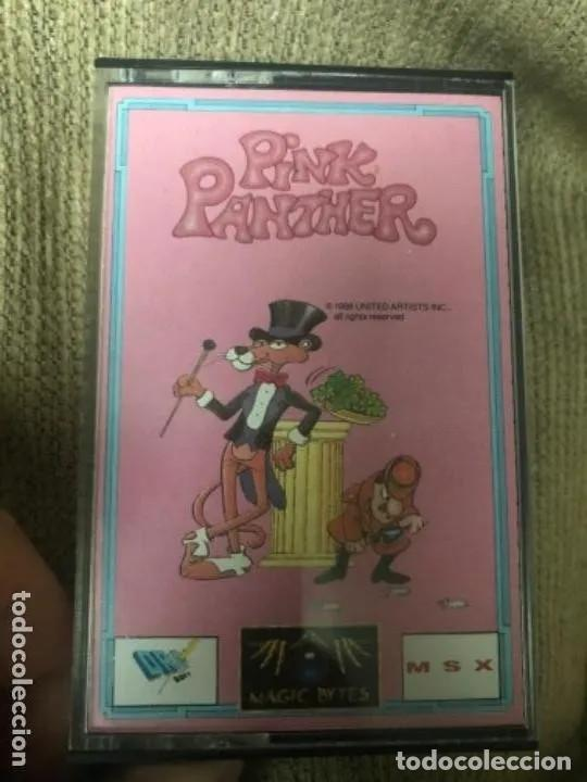 ANTIGUO JUEGO MSX PINK PANTHER (Juguetes - Videojuegos y Consolas - Msx)