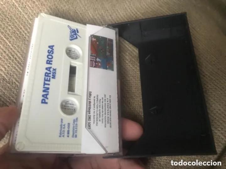 Videojuegos y Consolas: ANTIGUO JUEGO MSX PINK PANTHER - Foto 2 - 212477710