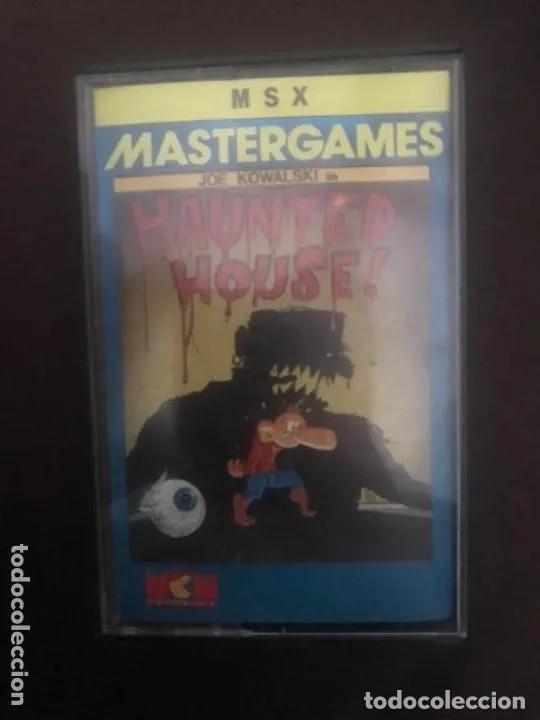 ANTIGUO JUEGO MSX MASTERGAMES HAUNTED HOUSE JOE KOWALSKI (Juguetes - Videojuegos y Consolas - Msx)
