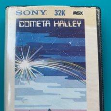 Videojuegos y Consolas: JUEGO PARA ORDENADOR MSX COMETA HALLEY. Lote 213212508
