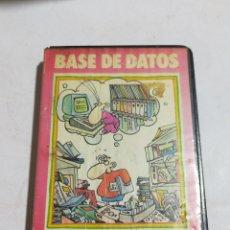 Videojuegos y Consolas: BASE DE DATOS TOSHIBA MSX. Lote 214053765
