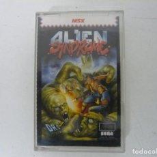 Videojuegos y Consolas: ALIEN SYNDROME / MSX CINTA / VER FOTOS / RETRO VINTAGE CASSETTE. Lote 214420770