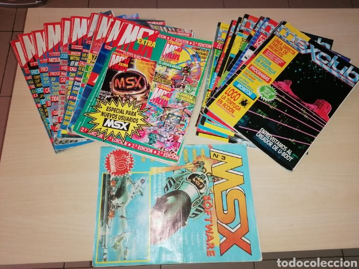 LOTE DE REVISTAS MSX - LOTE AMPLIADO (Juguetes - Videojuegos y Consolas - Msx)