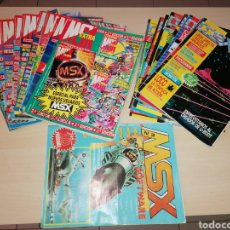 Videojuegos y Consolas: LOTE DE REVISTAS MSX - LOTE AMPLIADO. Lote 214997991