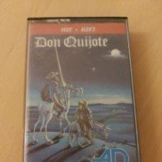 Videojuegos y Consolas: ANTIGUO JUEGO MSX-MSX2 DON QUIJOTE. Lote 215485188
