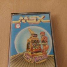 Videojuegos y Consolas: JUEGO CINTA MSX FRUIT MACHINE SOFT MAGAZINE. Lote 215585872