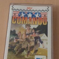 Videojuegos y Consolas: TRIPLE COMANDO MSX/JUEGO PARA ORDENADOR MSX. Lote 215587053