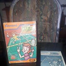 Videojuegos y Consolas: JUEGO TENNIS DE KONAMI PARA MSX COMPLETO. Lote 215743232