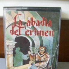 Videojuegos y Consolas: VIDEO JUEGO-MSX-LA ABADIA DEL CRIMEN. Lote 217210796